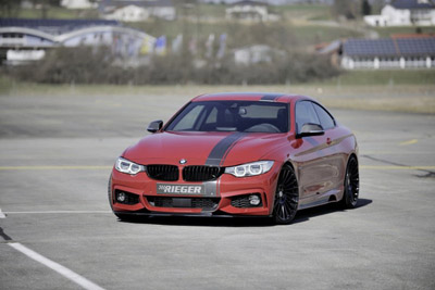 BMW 4-Series Coupe в тюнинге Rieger