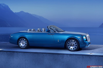 Phantom Drophead Coupe Waterspeed - новинка от Rolls-Royce
