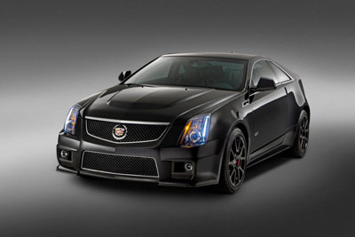 Cadillac выпустит спецверсию CTS-V Coupe Special Edition