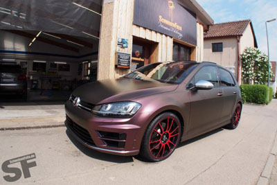 Volkswagen Golf R 7 от SchwabenFoli