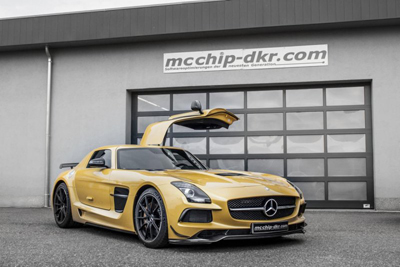Mcchip-dkr добавил лошадей Mercedes-Benz SLS AMG Black Series